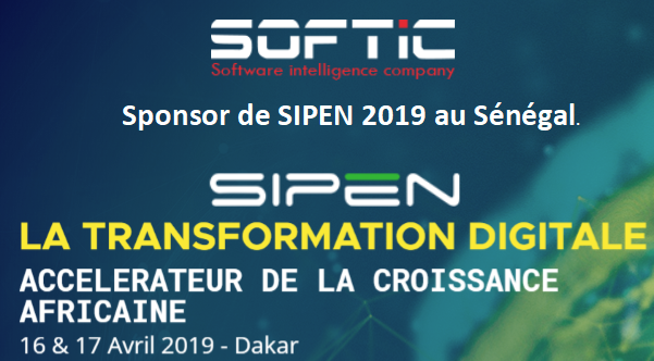SOFTIC SPONSOR OF SIPEN 2019